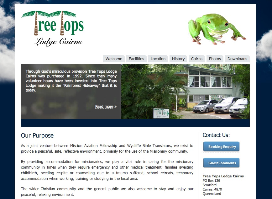 TreeTops Lodge Cairns