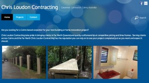ChrisLoudonContracting.com website by Kaimanui Web Design